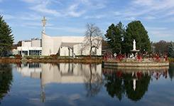 USAMASSACHUSETTSATTLEBOROSHRINE CHURCH OF OUR LADY OF LA SALETTE