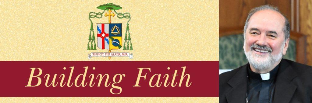 Bishop da Cunha Building Faith Blog Fall River Diocese