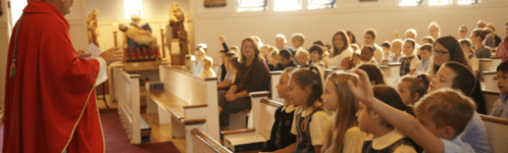 Bishop's Blog: Celebrating Catholic Schools