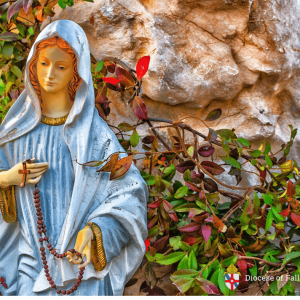 Bishop's Blog: Mass for Peace and the Rosary