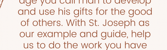 Consecration to St. Joseph — Day 27