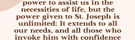 Consecration to St. Joseph — Day 30